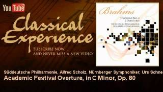 Johannes Brahms : Academic Festival Overture, in C Minor, Op. 80 - ClassicalExperience