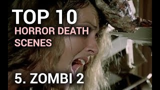 05. Zombi 2: Eye for an Eye (Top 10 Horror Movie Deaths)