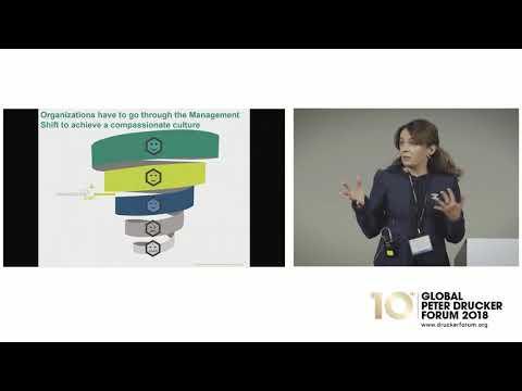 Vlatka Hlupic speaks at the Global Peter Drucker Forum 2018