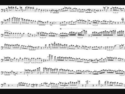 Robbie Harvey 'Cool' Trombone Solo Transcription