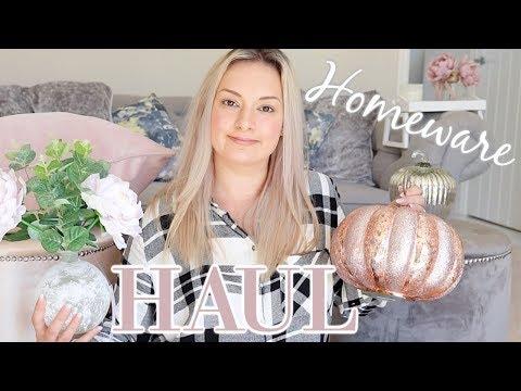 AUTUMN HOMEWARE HAUL UK SEPTEMBER 2018 | HOMESENSE, MATALAN, B&M & POUNDLAND | MRS SMITH & CO.