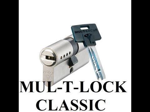 Взлом отмычками Mul-T-Lock CLASSIC  Вскрытие цилиндра MUL-T-LOCK CLASSIC 5PIN
