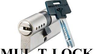 Вскрытие цилиндра MUL-T-LOCK CLASSIC 5PIN (МУЛЬТИЛОК КЛАСИК 5 ПИНОВ) ОБУЧЕНИЕ!!!