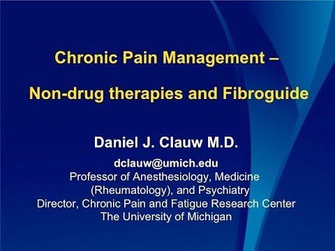 Dr Clauw Chronic Pain Management Non