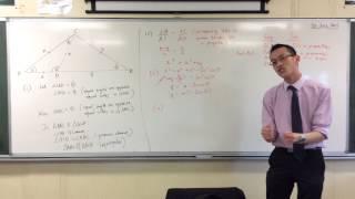 Interesting HSC Geometry Proof (2 of 2: Algebraic Results)