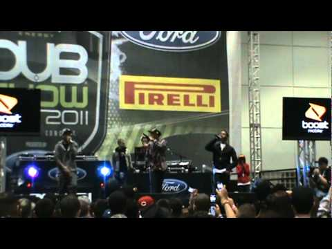The Ranger$ at the 2011 Dub Show in LA