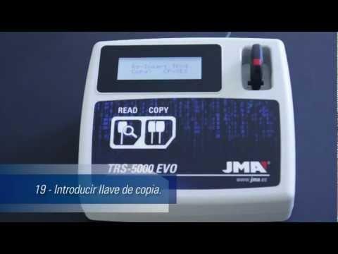 TRS-5000 EVO Maquina Transponder