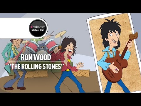 The Rolling Stones' 'New Guy' Ron Wood on Joining the Band (Radio.com Minimation)