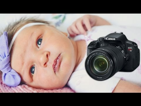 CAMERA GEAR FOR NEWBORN PHOTOS!