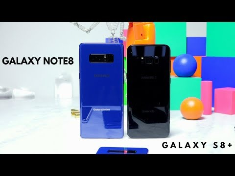 Galaxy Note 8 vs Galaxy S8 Plus: What