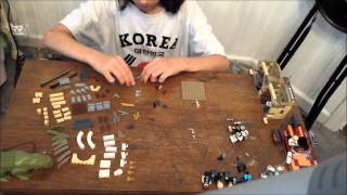 Mos Eisley Lego Build