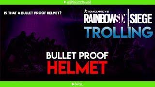 RAINBOW SIX SIEGE Trolling - Team Killing Reactions - You Didn't Revive me and Bullet Proof Helmet
