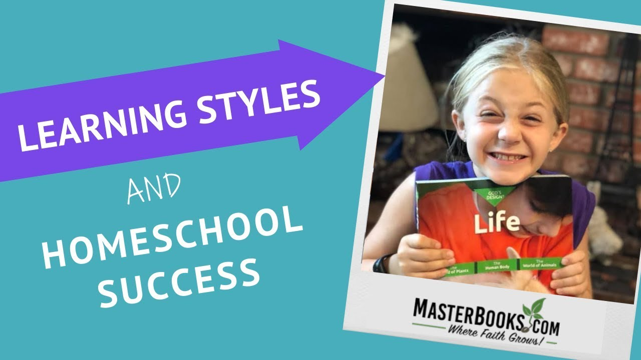 How Learning Styles can Affect Homeschool Success  // Master Books Homeschool Curriculum