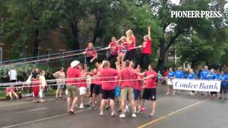 Twin Cities River Rats at Grand Old Day Parade 2014
