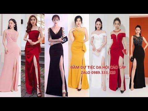 ĐẦM DẠ HỘI | 100 Đầm dạ hội đẹp thiết kế dài ôm body xẻ đùi giúp tôn dáng khoe chân dài nõn nà P1 | Tóm tắt những tài liệu liên quan đầm thời trang nữ mới cập nhật