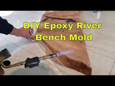 Making an Epoxy River Bench Mold, Episode 1