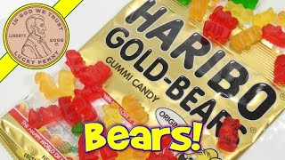 Haribo Gold Bears Gummi Original Fruit Flavored Candy