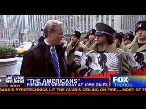 "Bizarre: Steve Doocy Language Confusion Interviewing 'Red Army Soldier': "" You're Going To Knit? """