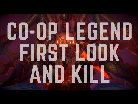 Dungeon Hunter Champions |  Coop Legend First Look + Kill!
