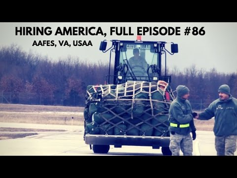 AAFES, VA, USAA on Hiring America Full Episode #86