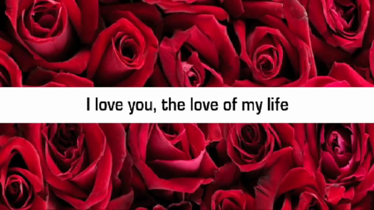 Darla Day - The Love of My Life (The Wedding Song) Lyrics