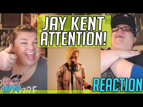 Jay Kent EPIC COVER Attention - Charlie Puth REACTION!! 🔥