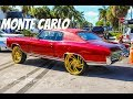 1972 Chevy Monte Carlo on Gold Savini Wheels in HD (must see)