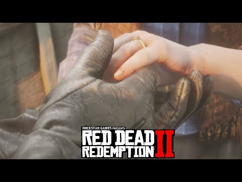 Red Dead Redemption 2 John Marston Proposes to Abigail