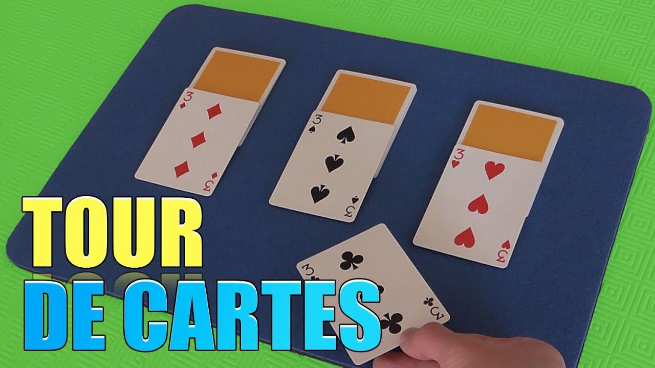 tour de magie carte avec explication yamakster