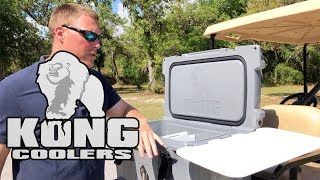 Kong Cooler Review -An Engineering Marvel, 50qt Cooler & Accessories