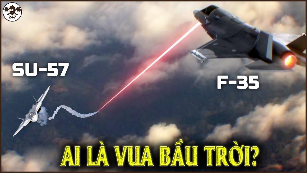 Hé Lộ Nguyên Do Dẫn Đến Việc Su-57 Nga Khiến F-35 Mỹ Toát Mồ Hôi Hột