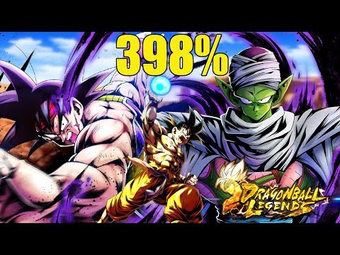 398% SOULBOOSTED TEAM WITH BARDOCK Vs. PvP! | Dragon Ball Legends