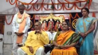 Master KPK in Pakalapadu Guruvu gari asramam at narsipatnam