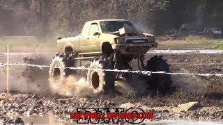OFF ROAD RACING!  MUD TRUCKS VS MEGA TRUCKS!