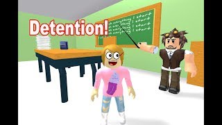 Roblox Escape Detention With Molly! - Toy Heroes Games