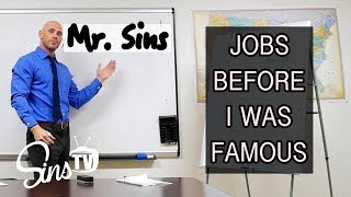 Jobs Before I Was Famous || Johnny Sins || Vlog # 32 || SinsTV