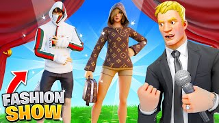 I joined a Fashion Show with $1000+ DESIGNER SKINS!