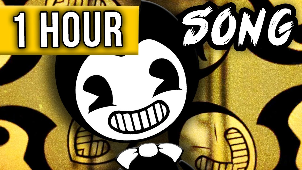 1 Hour Bendy And The Ink Machine Song The Dancing Demon Youtube