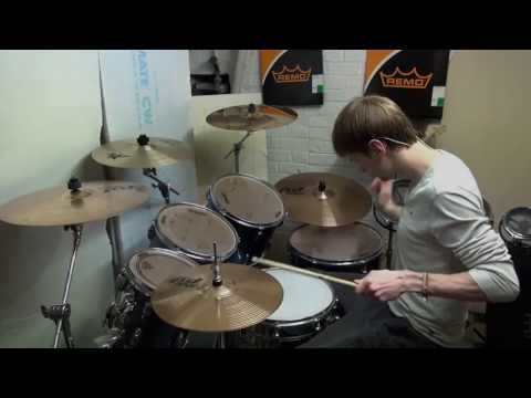 Akon - Right Now Na Na Na Drum Cover [2013]