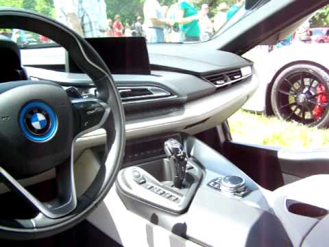 Bmw I8 Dashboard Youtube