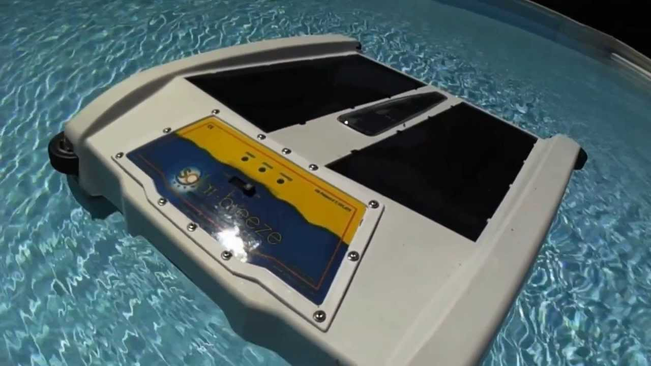 Solar Pool Technologies Inc The Solar Breeze Floating
