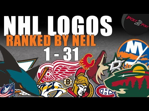 NHL Logos Ranked 1-31(Re-done)