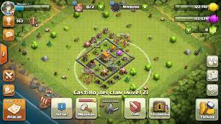 clash of clans:mi primer video de clash of clans