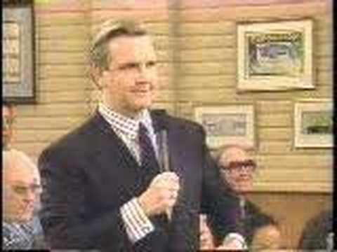 "Early 90's Gordon Elliot ""take my daughter, please"""