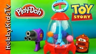 Toy Story ROCKET Claw Surprise Eggs by HobbyKidsTV