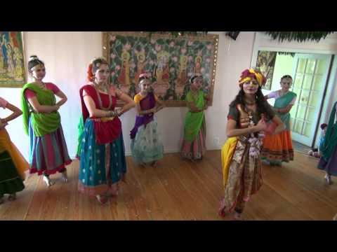 Radhe Kaise Na Jale Bharata Natyam Candrakanta and Narayan's Wedding