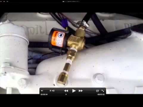 Home made detroit diesel 71 series propane injection system
