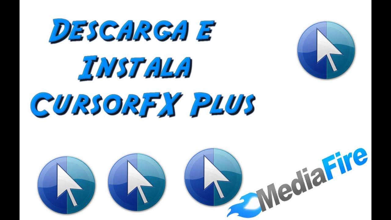 Tutorial Para Descargar e Instalar Cursor FX Plus FULL+ [Pack de  Cursores,Efectos,Sonidos] mp4
