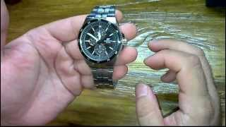 Часы CASIO edifice ef-340 sb-1a1 обзор