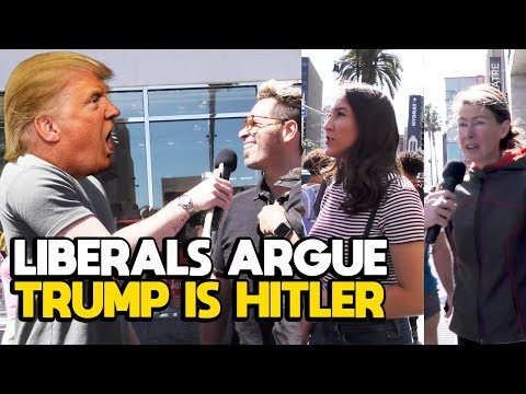 "WATCH: Liberals Argue ""Trump is Actually Hitler"" Slightly Offensive/Fleccas Talks"